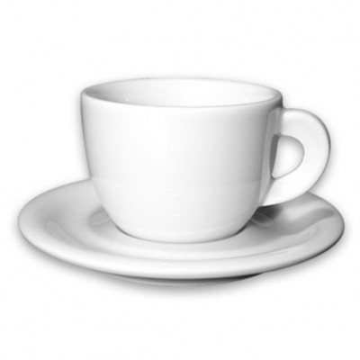 ANCAP Cappuccinokopjes Edex wit set van 6
