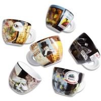 Ancap espresso kopjes Grande Musica - set van 6