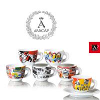 ANCAP Espressokopjes Stampa set van 6