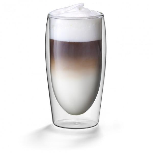 Dubbelwandige Caffe latte glazen 0,35L. Flame model