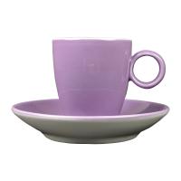 Espressokopje - Maastricht porselein - Bart Colour - Paars
