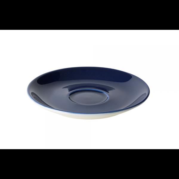 Cappuccinoschotel - 15,5 cm - Maastricht Porselein - Blauw