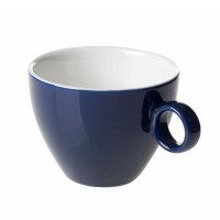 Cappuccinokopje - Maastricht porselein - Bart Colour - Blauw
