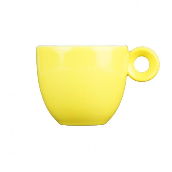 Espressokopje geel - 80ml - Mosterdman
