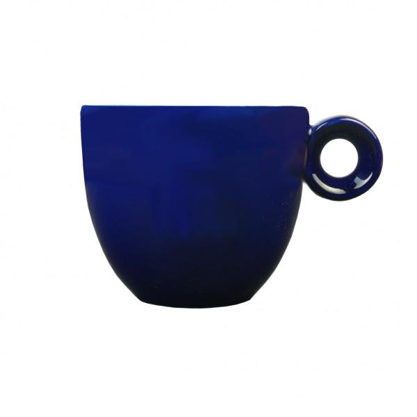Espressokopje blauw - 80ml - Mosterdman