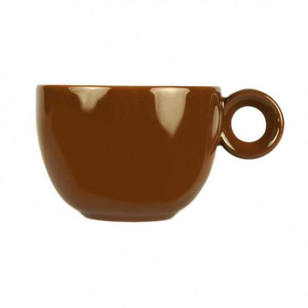 Bruin koffiekopje - 150ml - Mosterdman