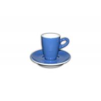 Walkure alta espressokopjes met schotel blauw