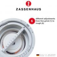 Zout  en pepermolen Zassenhaus Frankfurt - 18cm- Wengé - Set