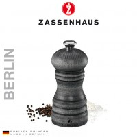 Zoutmolen Zassenhaus Berlin - 12cm - Vintage grey